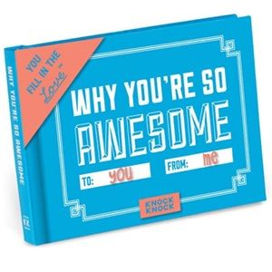 why you're so awesome fill-in-the-blanks book